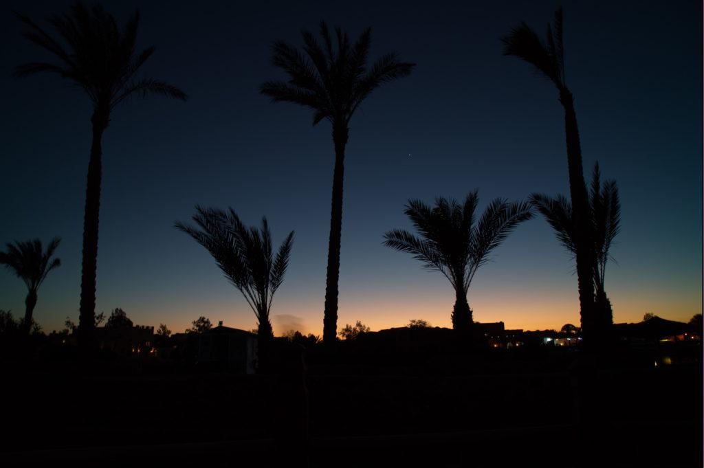 El Gouna nocą