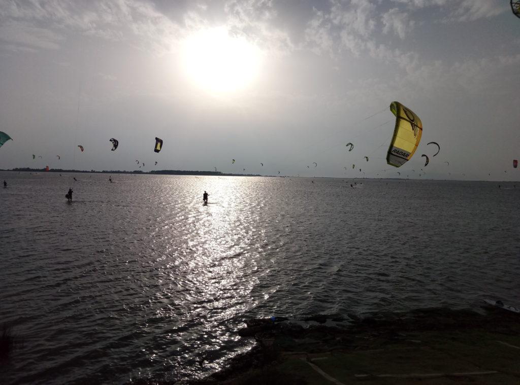 Lo Stagnone. Kitesurfing w pełnej krasie.