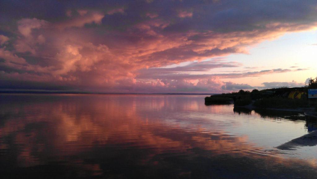 Jastrania, Zatoka Pucka po burzy