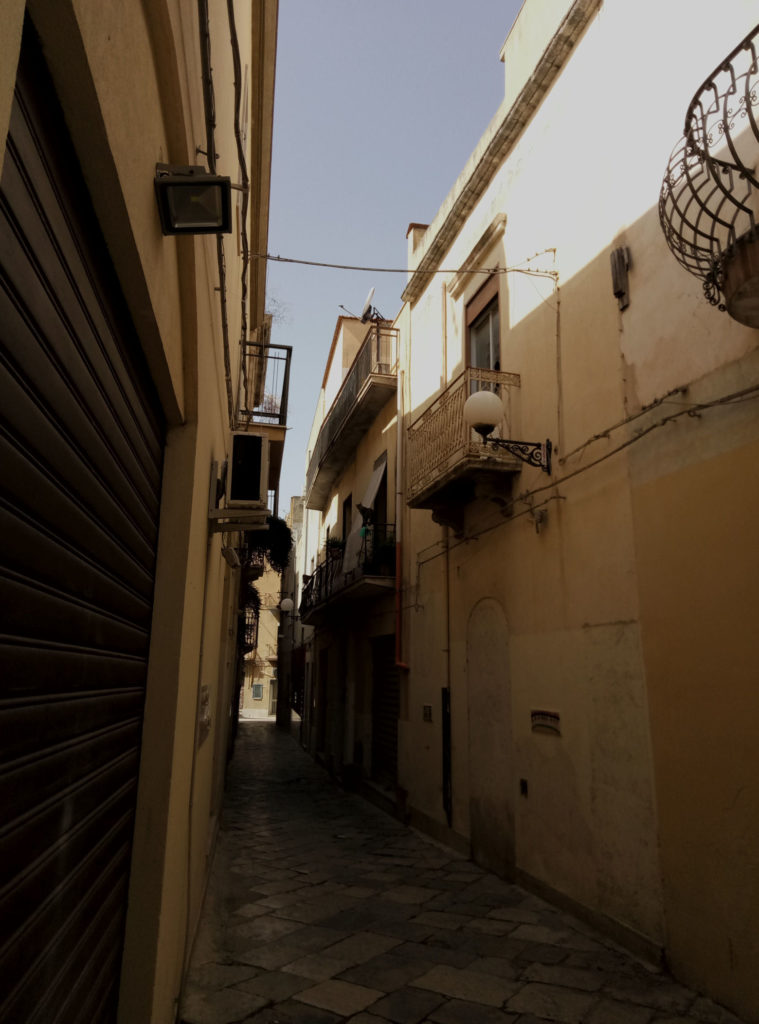 Wąskie uliczki arabskiej casby