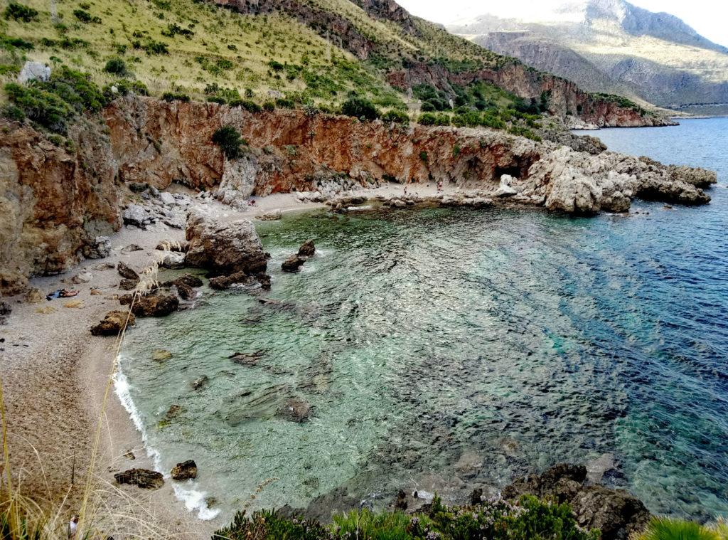 edna z plaż w Lo Zingaro