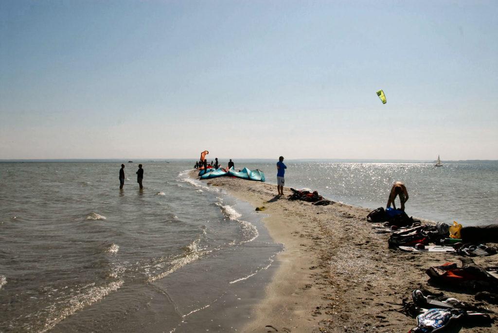Rybitwia Mielizna, kitesurfing