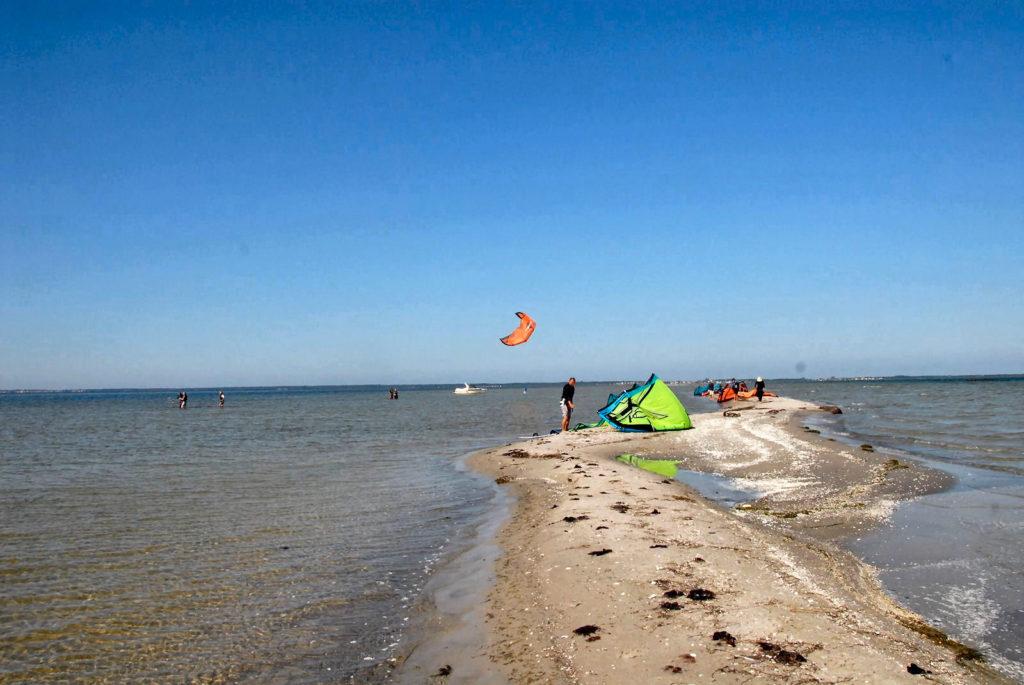 Mewia Rewa, kitesurfing