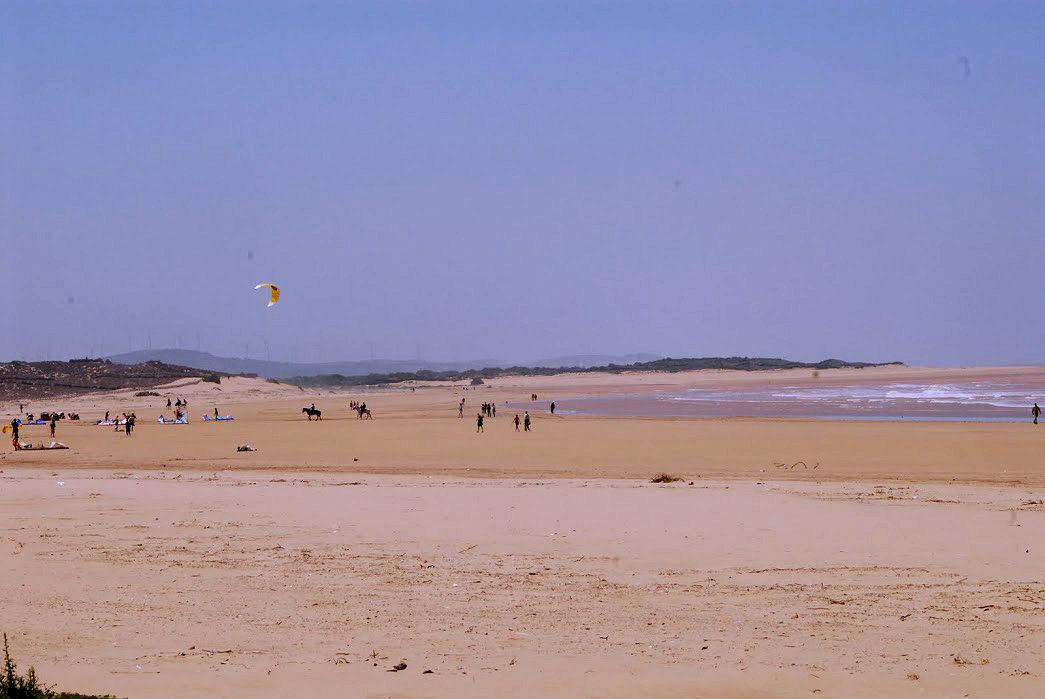 Kitesurfing: szerokie plaże w Essaouirze