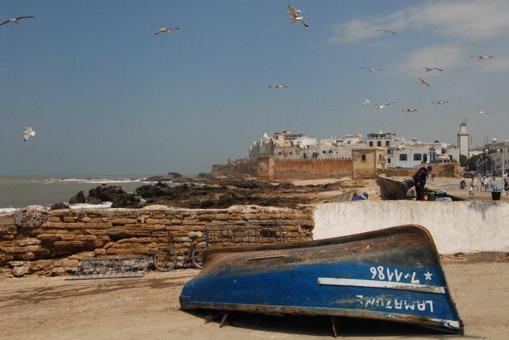 Widok na zabytkową medynę w Essaouirze