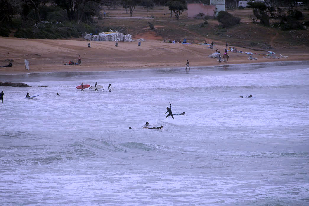Surferski spot na obrzeżach Taghazout
