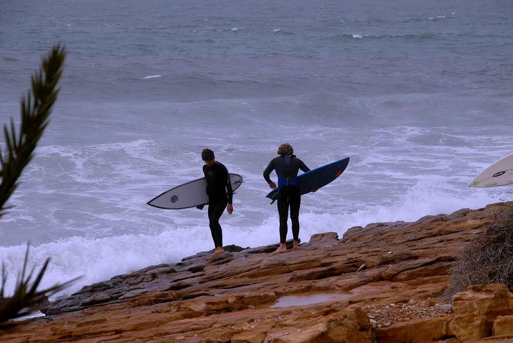 Surferzy w Taghazout