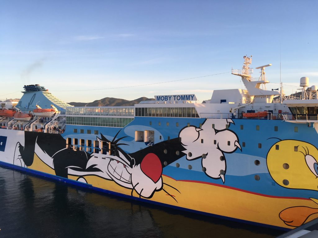 Promy na Sardynię w klimacie kreskówek
