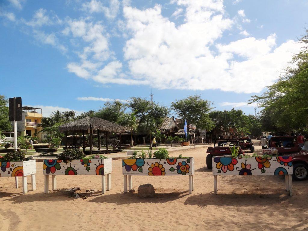 Główny plac w Jericoacoara