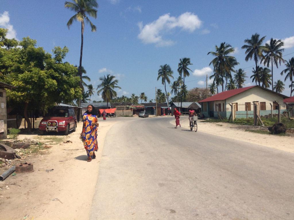 Wioska w Paje, Zanzibar