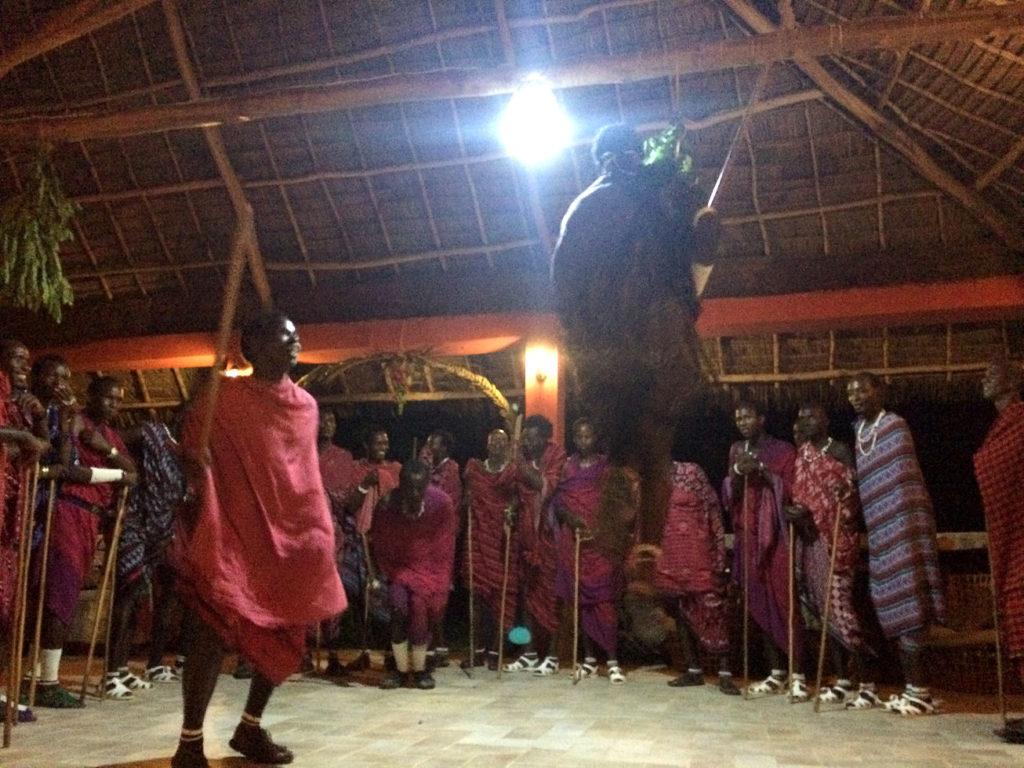 Masajskie tańce