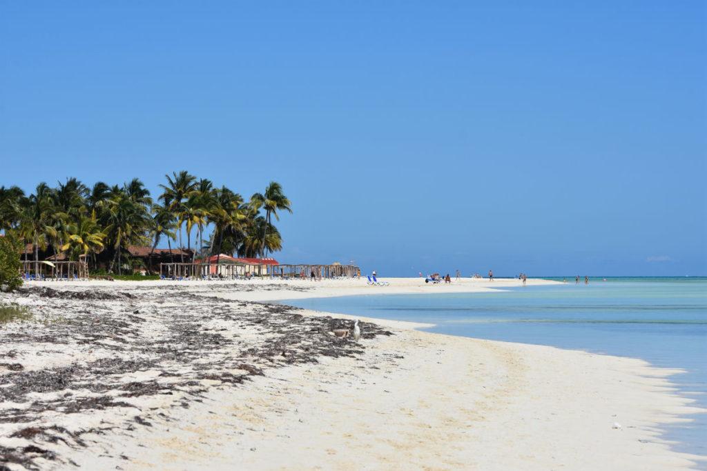 plaża Cajo Gillermo, Kuba