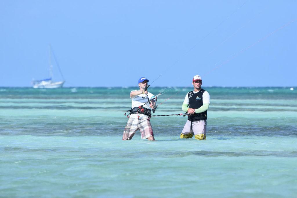 kitesurfing Cajo Gillermo, Kuba