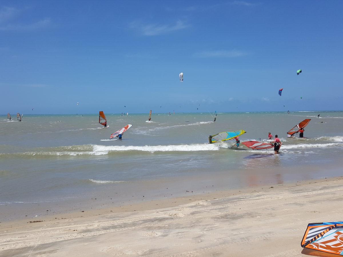 Gostoso jest spotem kite i wind surfingowym