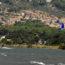 Widok ze spotu na malowniczo położoną miejscowość Akyaka.