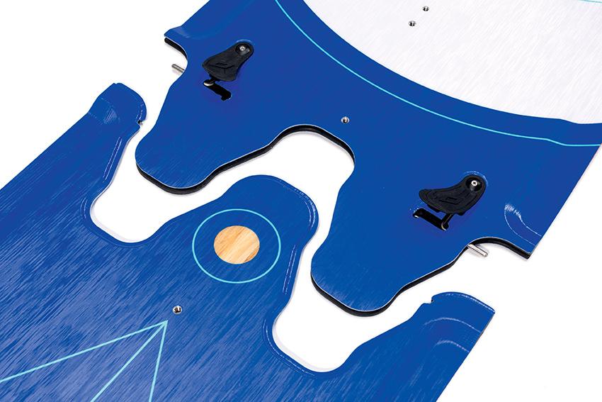 Modele Nobile Splitboard od 2018 roku mają nieco zmodyfikowany system łączenia