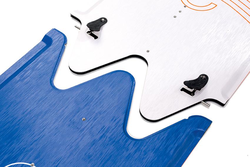 """Splitboard'y firmy Nobile dzielą się na dwie """"nierówne połowy"""""""