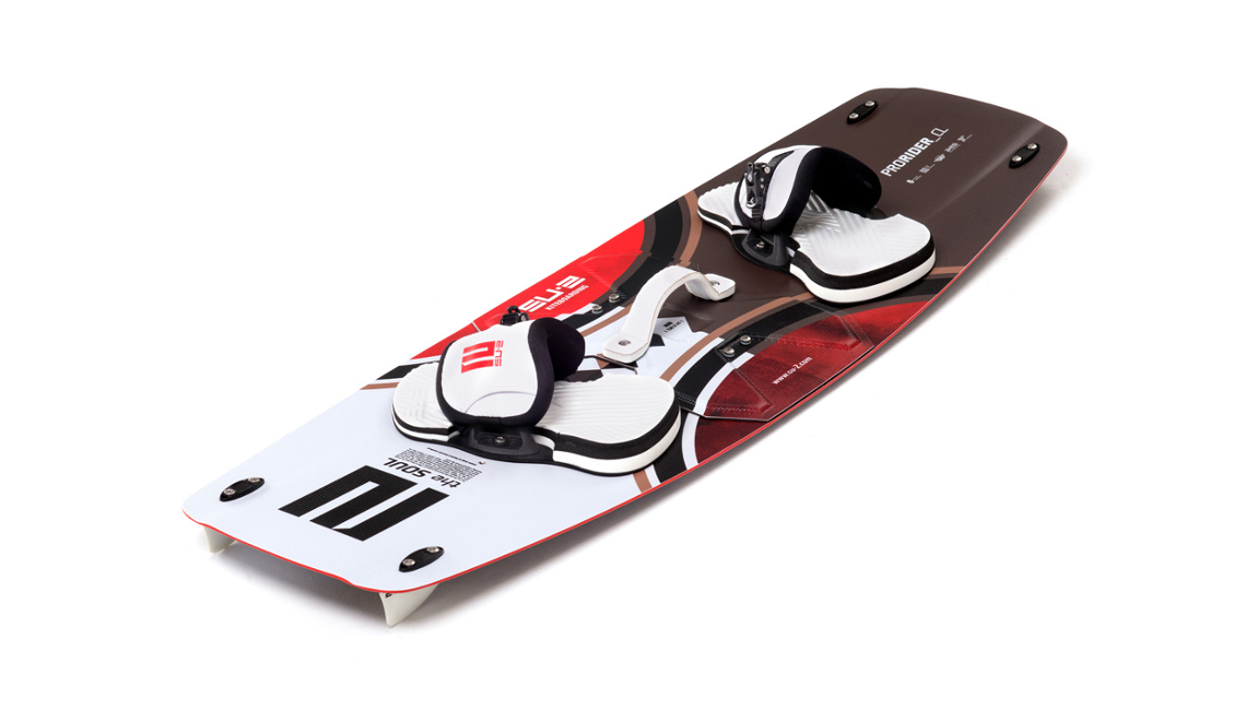 Po złożeniu splitboard nie różni się od zwykłej deski