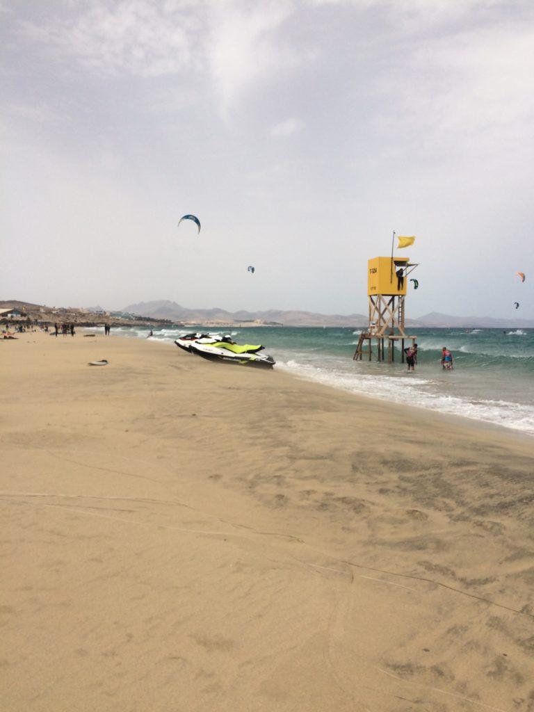 Wietrzny dzień na Sotavento, Fuertaventura