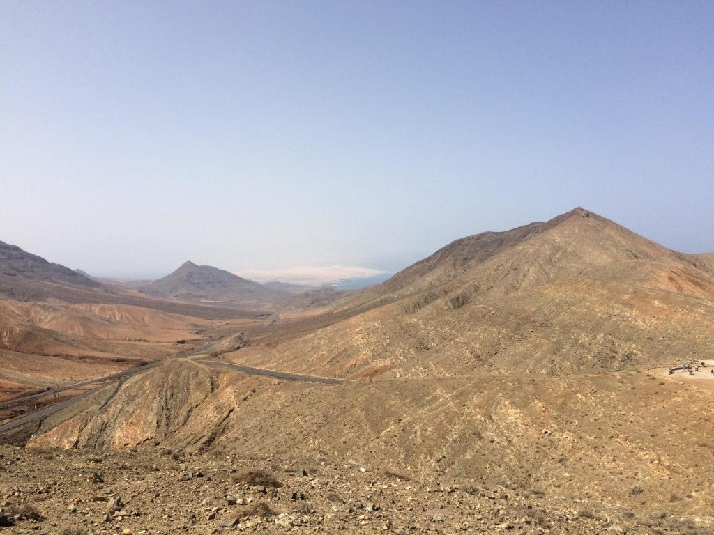 Centralna część wyspy Fuertaventura