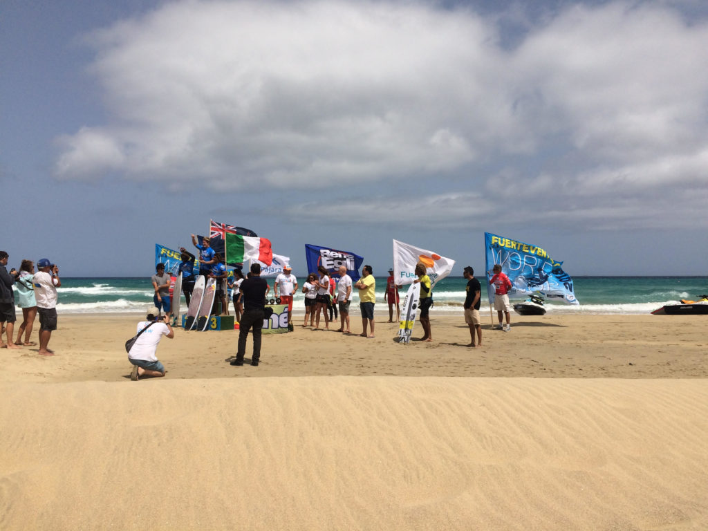 Zawody kitesurfingowe, Fuertaventura
