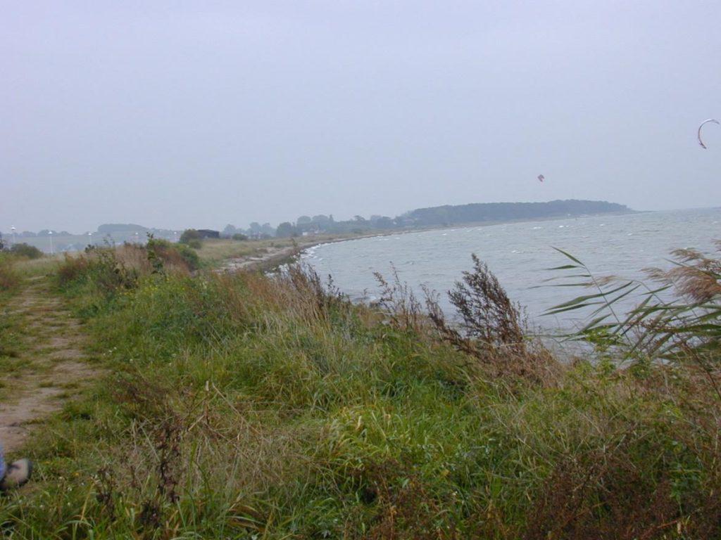 Zatoka Klein Zicker koło miejscowości Baabe na Rugi
