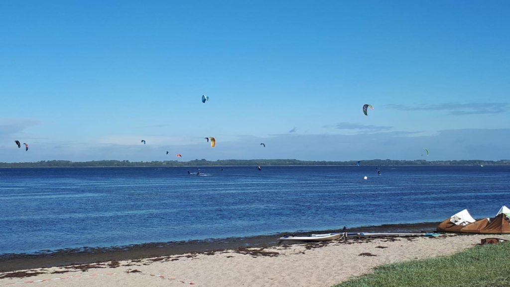 Wiek na Rugii, idealne miejsce do nauki kitesurfingu