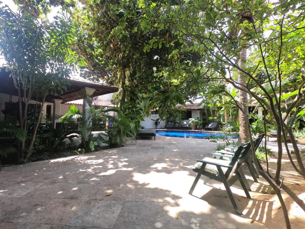 Pełna zieleni pousada w Camocim