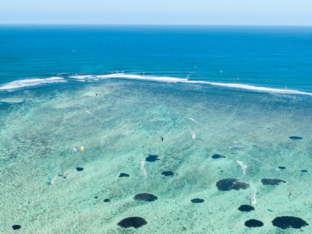Mauritius, idealne miejsce na kitesurfing