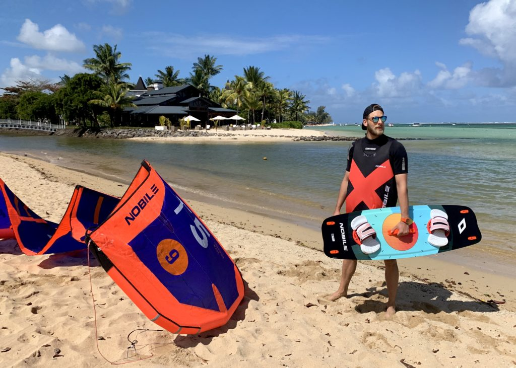 Mauritius, kitesurfing