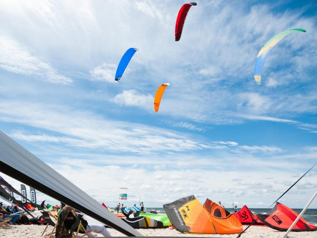 Kitesurfing, Krynica