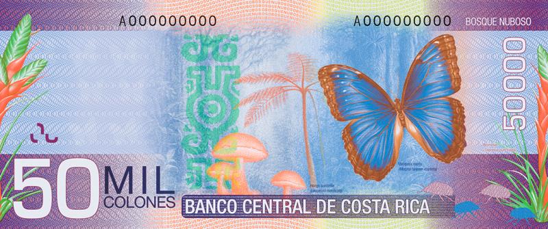 Colon - oficjalna waluta Kostaryki