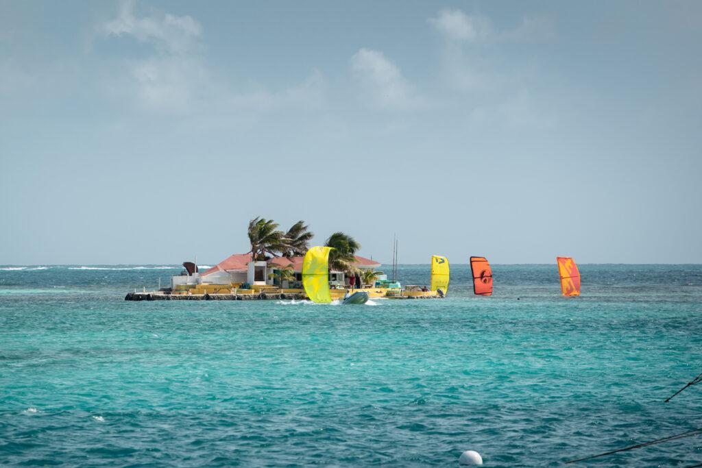 Kitesurfing na Karaibach