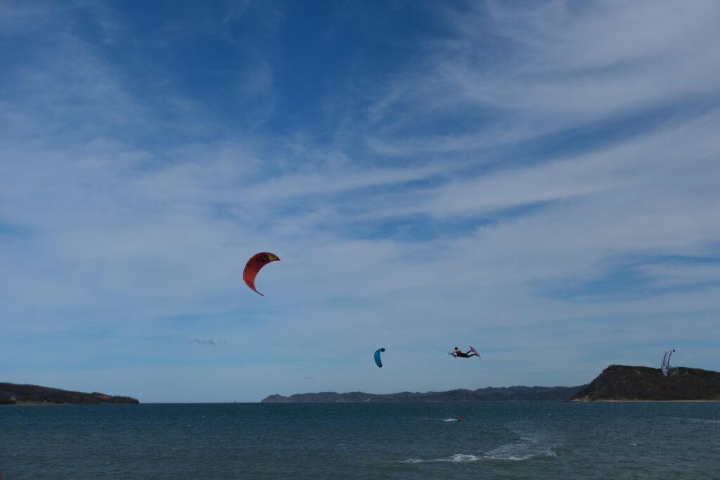 Playa Copal u zawsze wieje