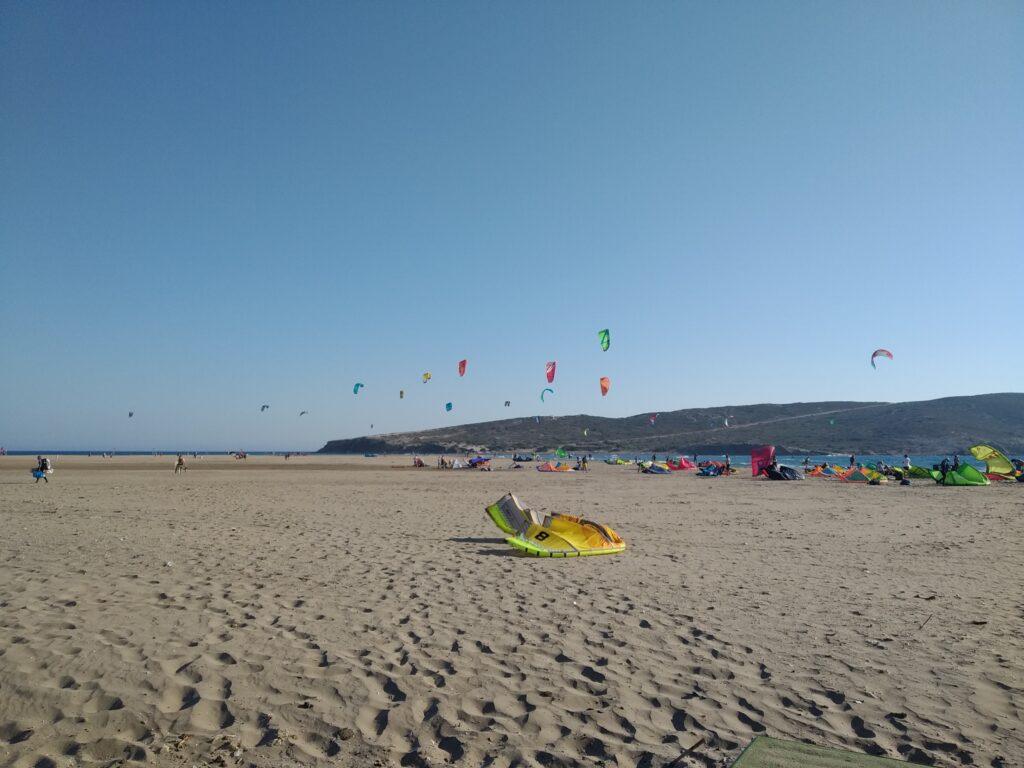 Prasonisi, mekka kitesurfingu w Gracji