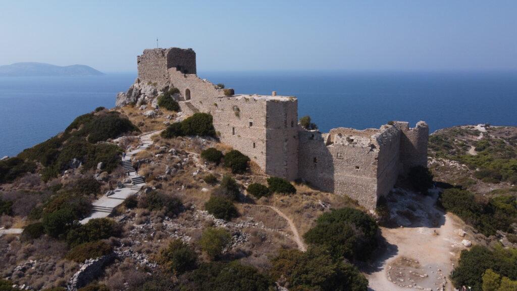 Zamek w Kritinii, Rodos