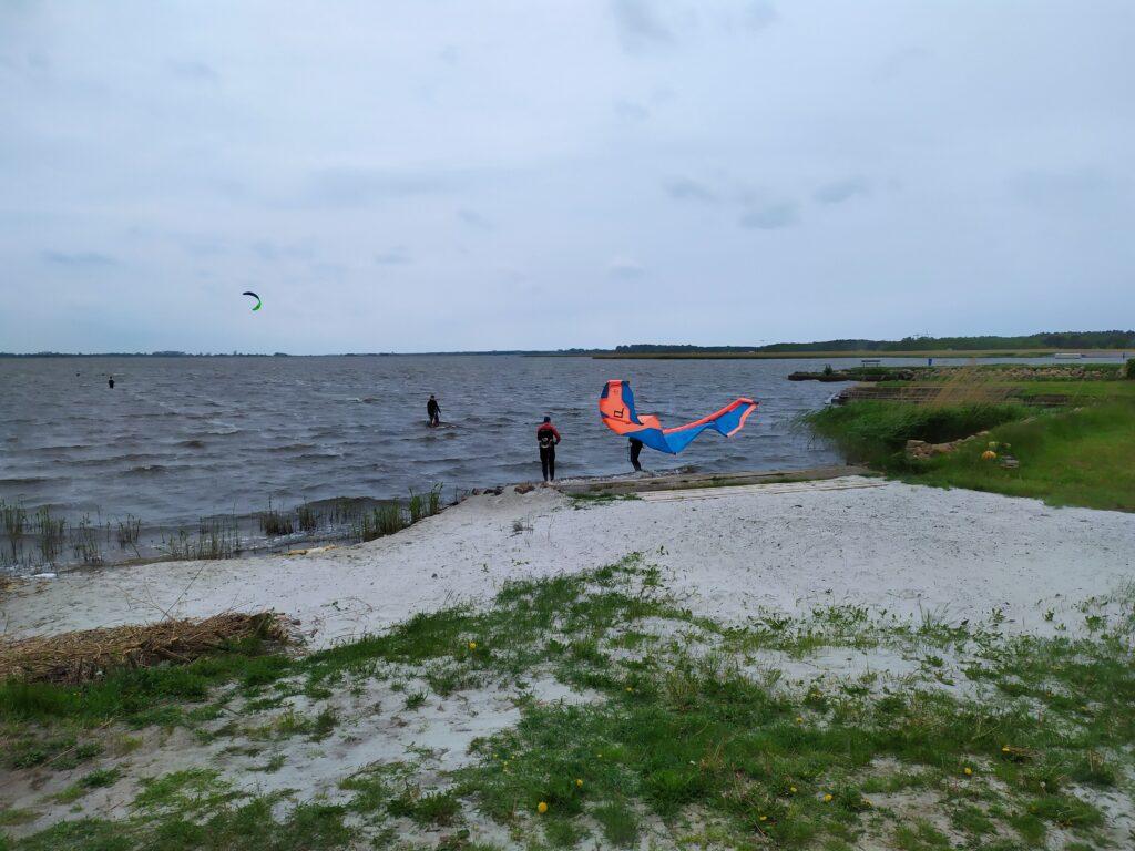 Plaża Stanicy Wodnej w Resku Przymorskim