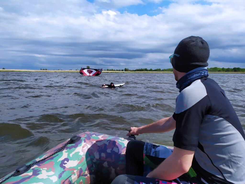 Resko Przymorskie, kitesurfing
